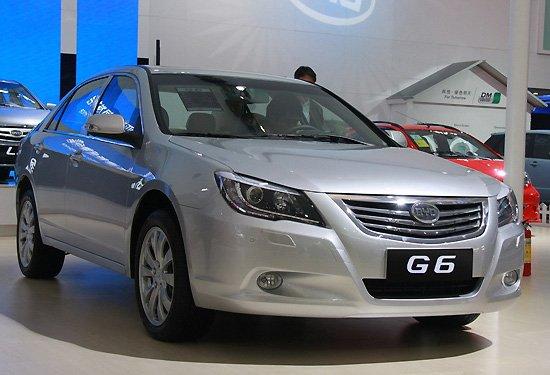 比亚迪上海车展推G6 1.5Ti 配双离合变速箱