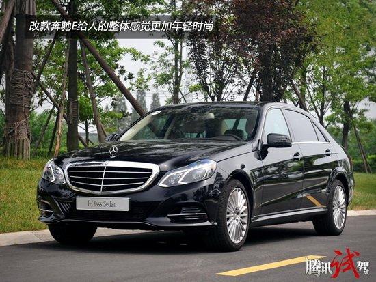 短途体验北京奔驰改款E级轿车 更时尚的改变