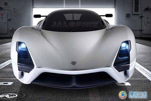 SSC新ultimate曝光 冲击最快量产车记录