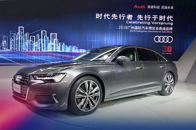 奥迪新A6L首发亮相 有望2019年投放