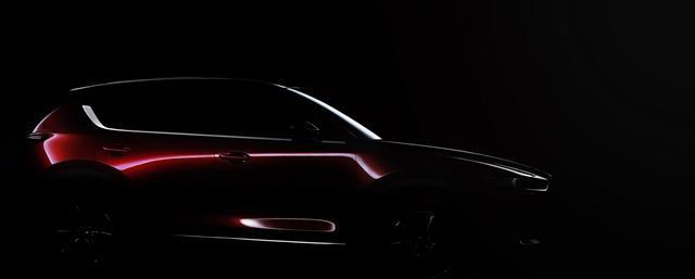 曝新马自达CX-5官方预告图 下月洛杉矶首发