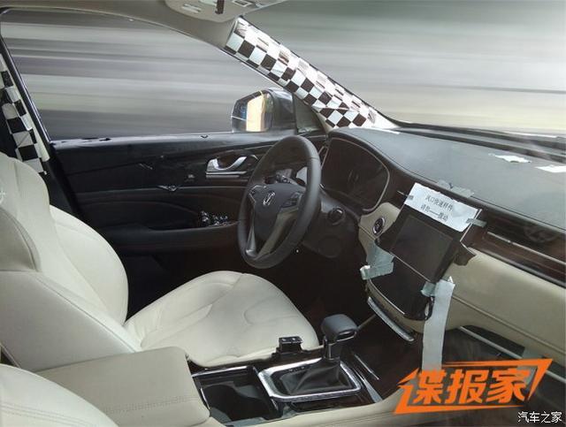 长安全新SUV谍照曝光 尺寸或超越CS95