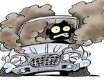 高温暴晒导致车内空气质量恶化