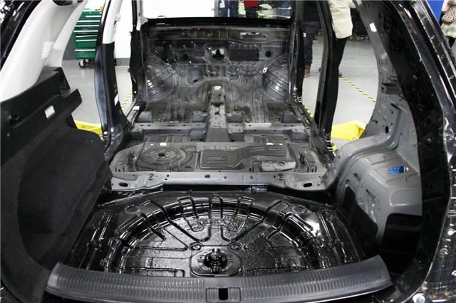 该车型的隔音材料覆盖率高达95%