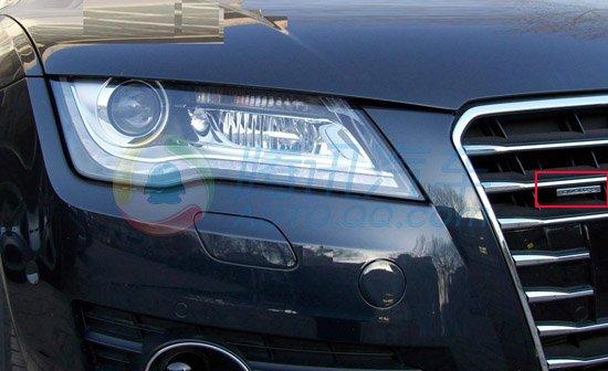 即将国内首发 奥迪A7顶配车型谍照曝光