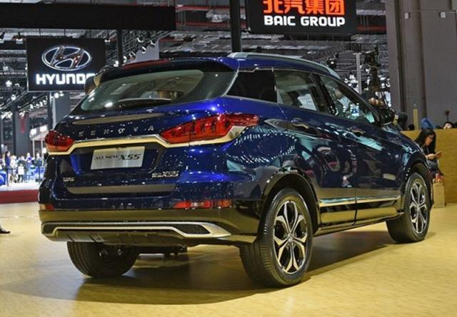 全新绅宝X55下半年上市 采用全新设计风格