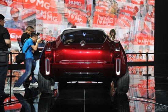[新车解析]MG Icon概念车于北京车展亮相