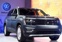 上汽大众全新中大型SUV 尺寸完爆途锐