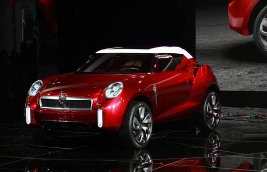 MG首款SUV车型CS概念车将于上海车展首发