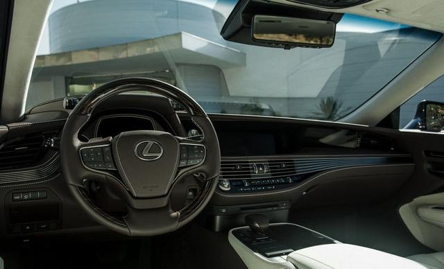 雷克萨斯LS350下月深圳首发 新款IS同上市