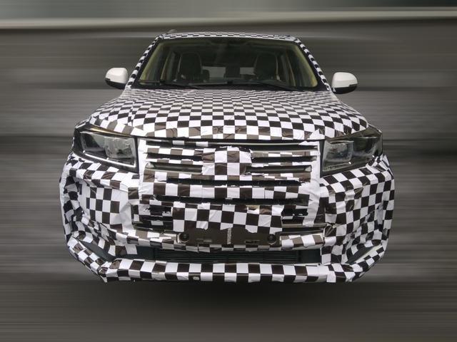 预计上半年上市 北汽幻速全新SUV高伪谍照