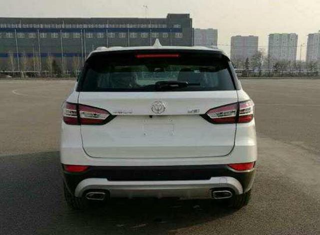 中华V6第四序度上市 将提供1.5T/2.0L动力