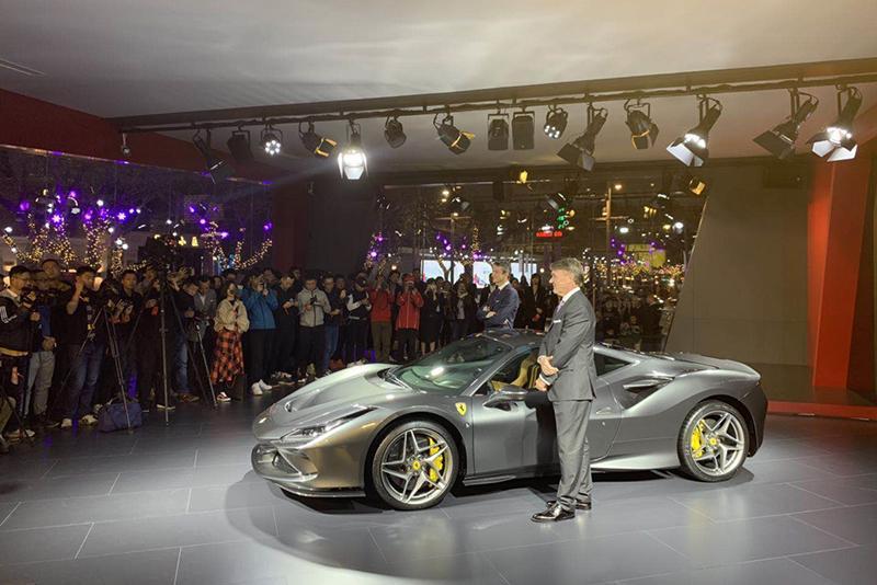 售298.8万元起 法拉利F8 Tributo亚洲首发