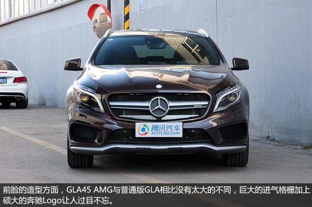 奔驰gla45 amg实拍 小suv性能控高清图片