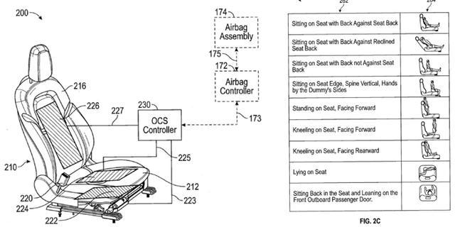 特斯拉专利:座椅安装传感器探测乘员体重 以更安全部署安全气囊