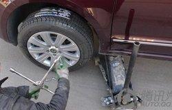 昊锐换轮胎详细作业分享