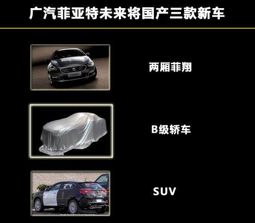 广汽菲亚特未来5年的发展计划,每年至少向市场推出一款新车型高清图片