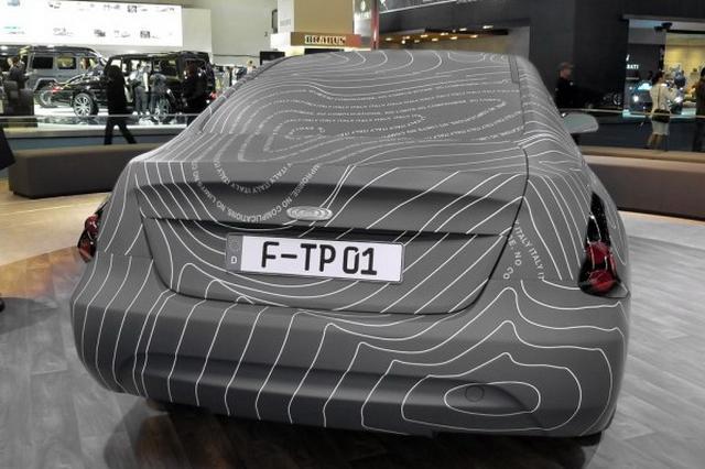 续航里程可达650公里 昶洧TP-01原型车