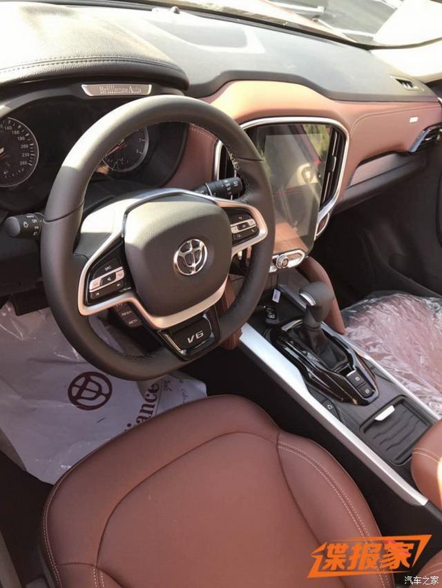 定位紧凑型SUV 中华V6将于12月上市