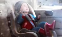 幼儿坐车最好反向