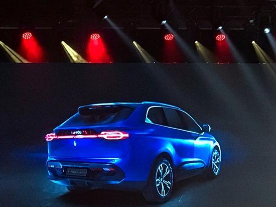 20万起售 奇点汽车发布量产版车型iS6