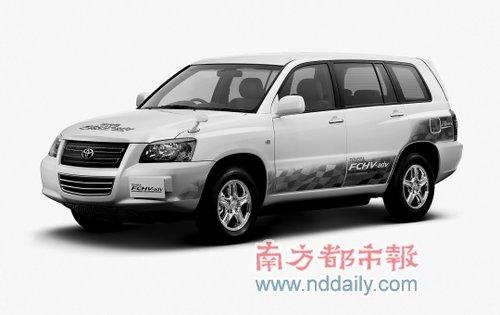 氢燃料电池混合动力车fchv-adv.高清图片