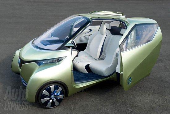 日产PIVO 3概念车发布 采用1+2座椅布局
