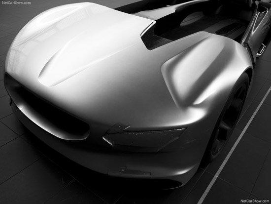 纯电动超跑 标致EX1概念车全解读