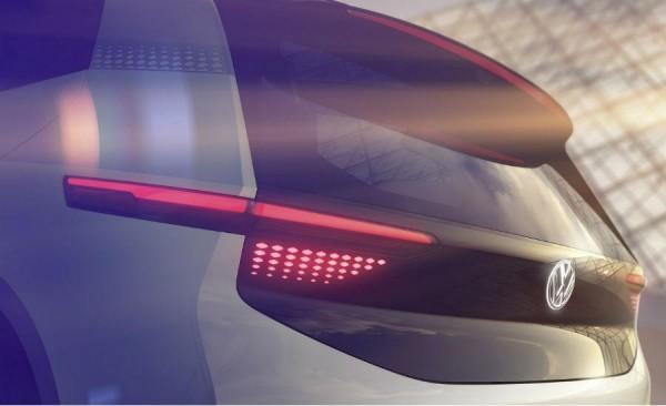 大眾發布全新純電動概念車預告圖 巴黎首秀