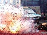 车被鞭炮炸伤保险赔吗