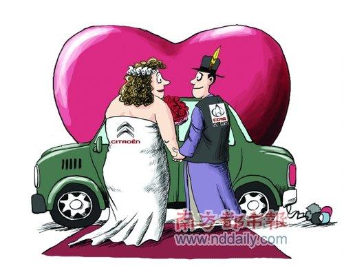 中国长安汽车,法国标致雪铁龙跨国联姻