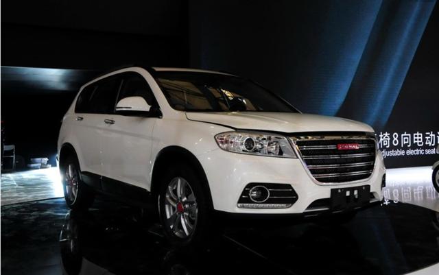 长城汽车5月销售6.89万辆 哈弗H6销量下滑