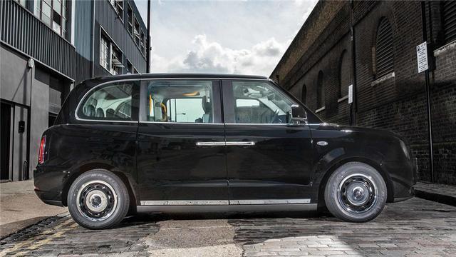 电动出租车现身伦敦街头 续航里程可达400英里