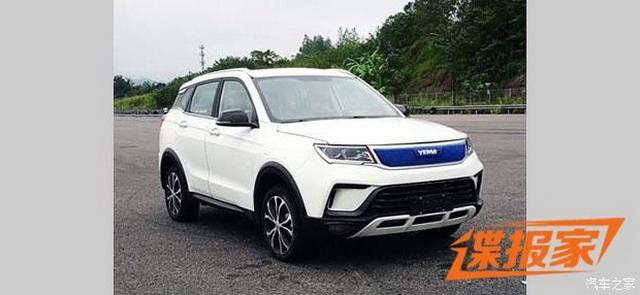 紧凑型SUV 野马EC60申报信息曝光