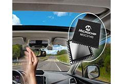 美国微芯科技推车用3D手势识别控制器 为汽车行业提供最低成本系统