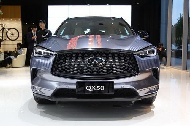 曝全新英菲尼迪QX50预售价 豪华SUV新选择