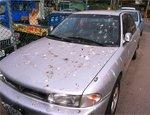 清理车漆表面污垢