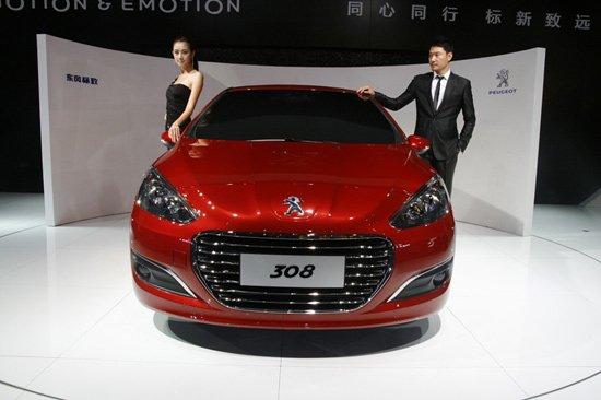 东风标致308三厢新车解析 外观借鉴海外版高清图片
