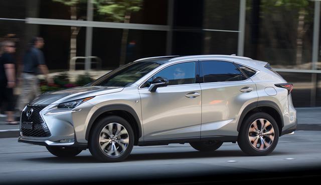 雷克萨斯确认将推更小SUV车型 定位低于NX
