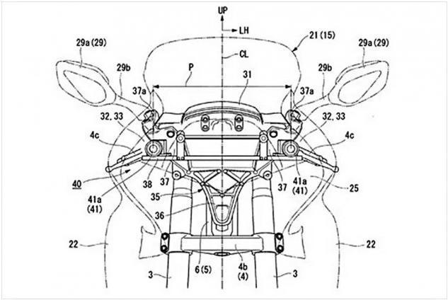 """本田计划为摩托车配置""""本田感知""""技术 利用双摄像头显示前方道路立体图像"""