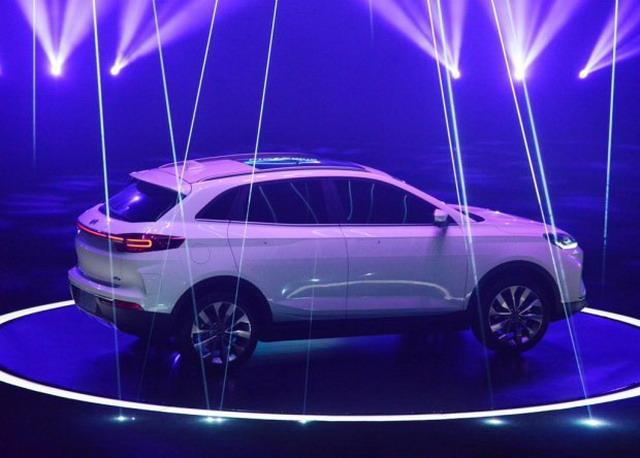 威马首款纯电动SUV车型 EX5正式亮相
