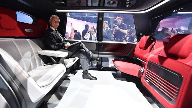 大众首款全自动驾驶汽车Sedric将于2021年上路