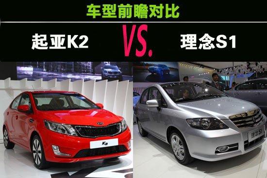 韩系和自主对决 起亚K2和理念S1前瞻对比