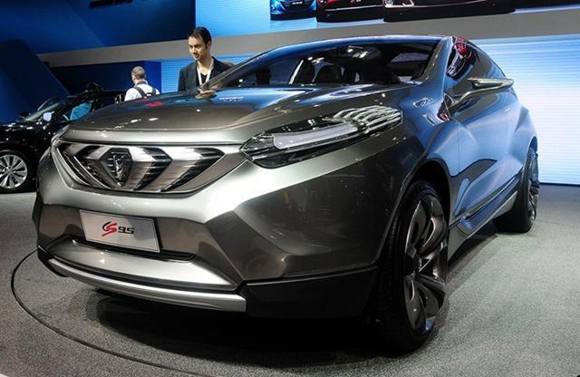 长安CS95将4月北京车展亮相 或采用7座布局