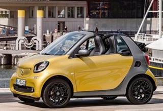 Smart新一代Fortwo敞篷车官图 下月将首发