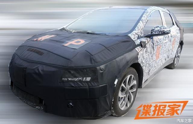 雪佛兰全新车型谍照 定位小型或紧凑型SUV