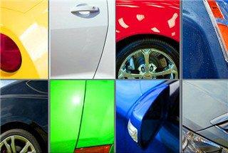 汽车的颜色之