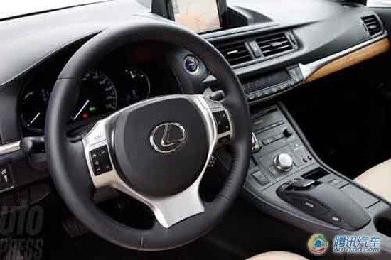 即将进口 雷克萨斯CT200H上海车展国内首发