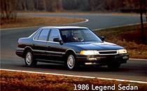 1986 Acura Legend 4门版