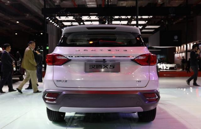 汉腾X5估计10月26日上市 起售价或低于7万